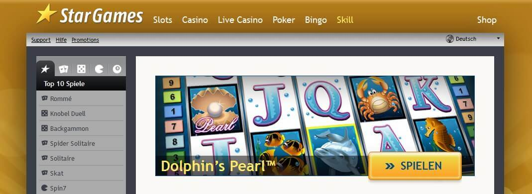 Dolphins Pearl bei Stargames