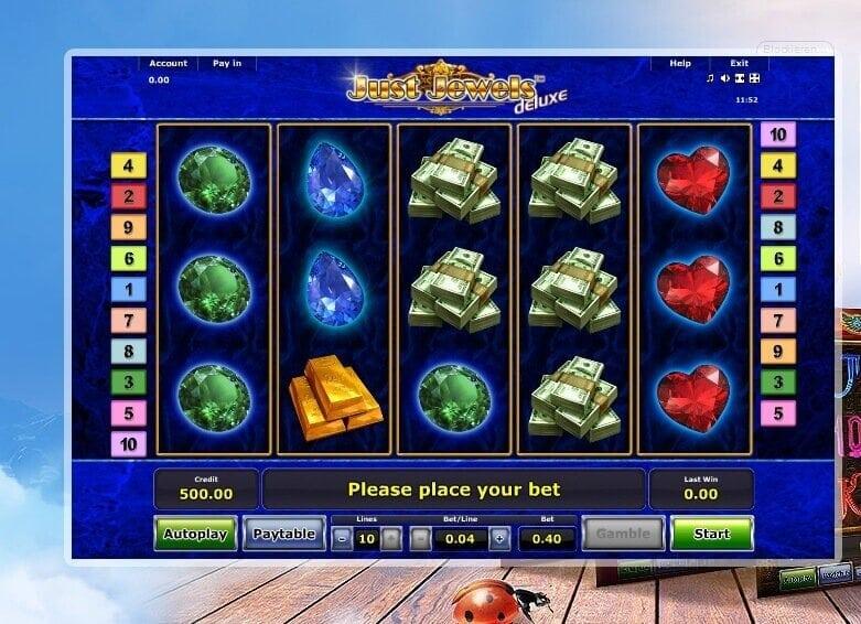 Just Jewels Deluxe Slot