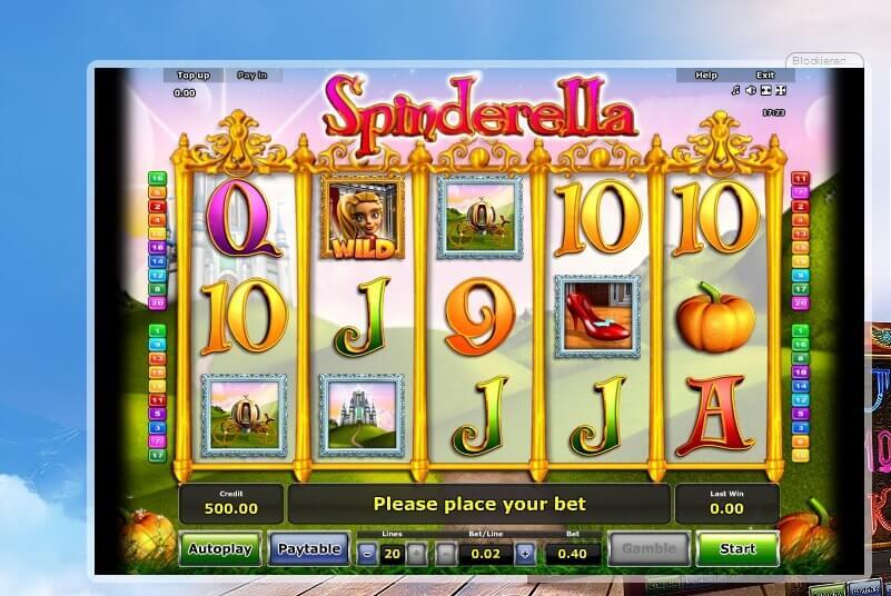 Spinderella Slot von Novoline