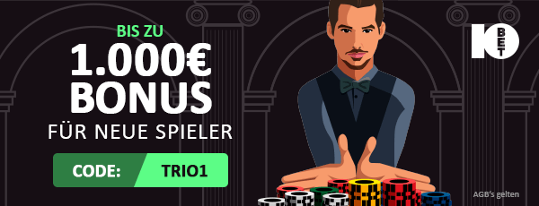 10bet casino bonus angebot