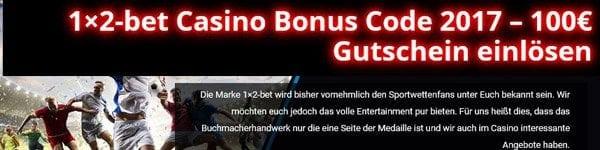 1x2-bet Casino Bonus
