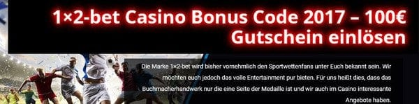 Stufensystem Rollover Bonus 1x2-bet Casino