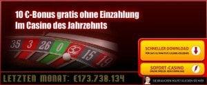 10 Euro Gratis Bonus