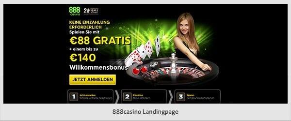 888 Casino Bonus Code