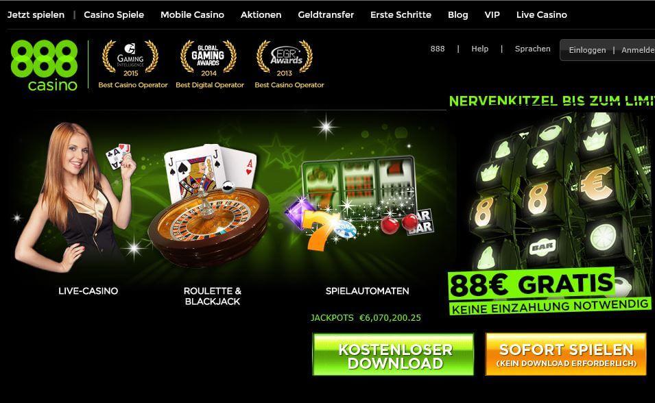888 Poker Casino-Zusatzprogramm