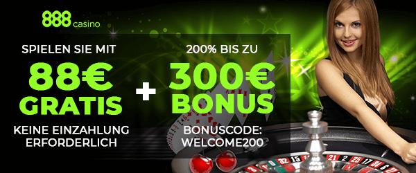 300 euro bonus bei 888-casino
