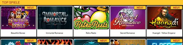 Betolimp Casino Games