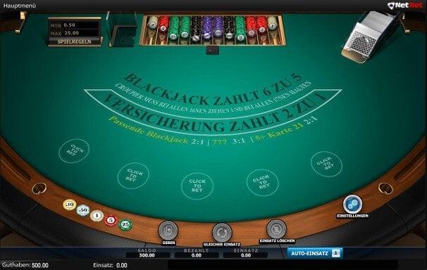 Blackjack mit Micro Limit für vorsichtige Spieler
