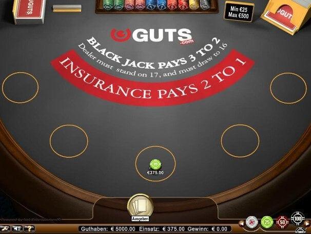 Auch bei Spielen um den Bonus darf viel Geld gesetzt werden