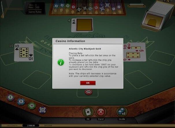 Gute Casinos präsentieren zusätzliche Hilfestellungen vor Spielbeginn