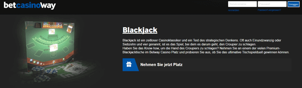 Blackjack PayPal Casino betway