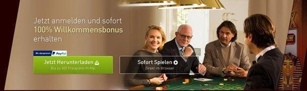 Casino Club Werbebonus für neue Spieler im Detail