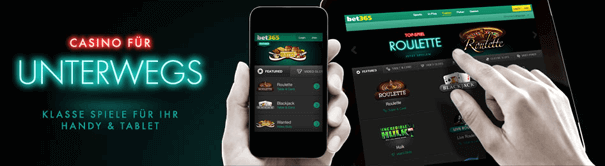 Casino mit PayPal Handy iPhone Android sbet365