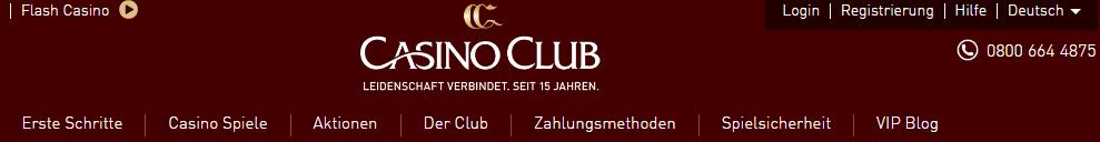 Casino Club Headline Angebote Aktionen