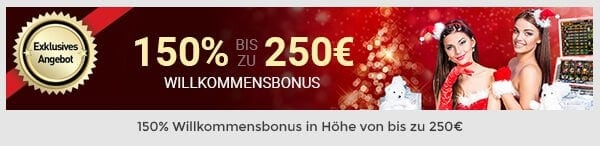 Screenshot Casino Club Willkommensbonus