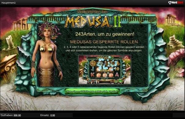 Hochwertige Spiele wie Medusa II lassen keine Unklarheiten aufkommen