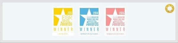 Casumo Auszeichnungen