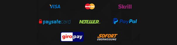 Im Gaminator ist PayPal keine Zahlungsmethode