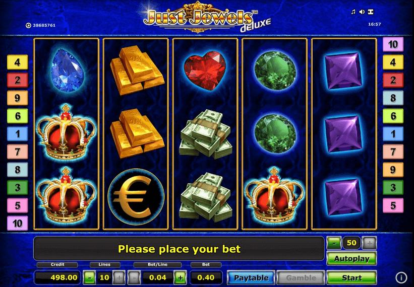 Just Jewels Deluxe Bonus ohne Einzahlung erhalten