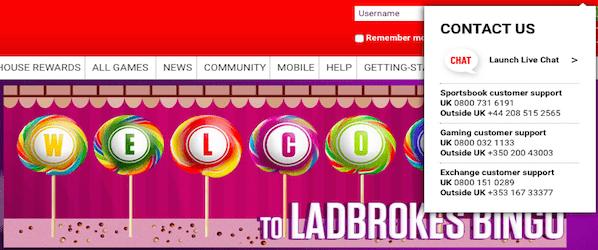 Ladbrokes Bingo 3