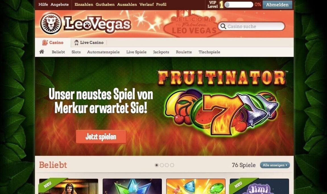 Leo Vegas Auszahlung Dauer