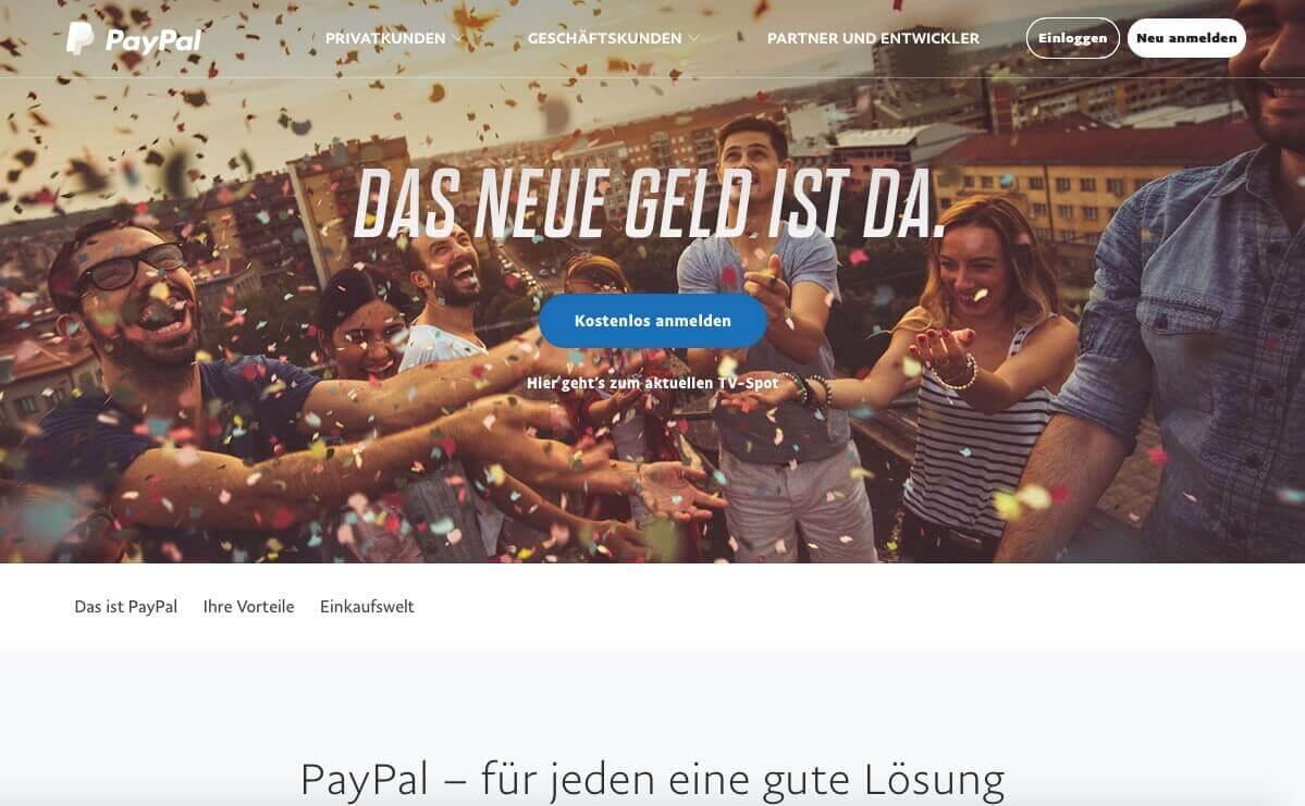 Merkur Online mit PayPal