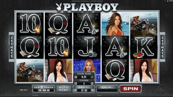 Microgaming Spiel Playboy beliebt