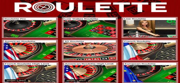 Überblick über einige Roulette Spiele