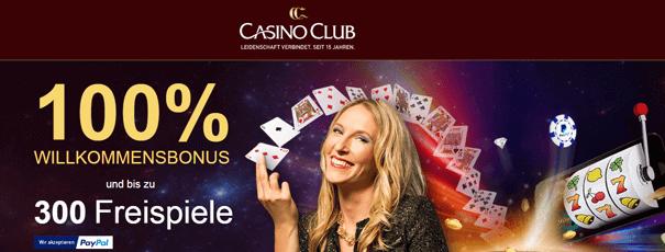 Online Casino PayPal Bonus Casino Club