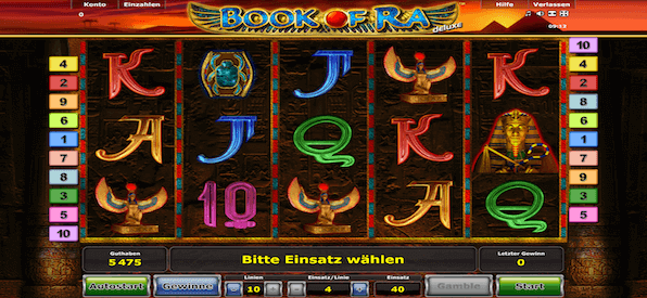novoline online casino book of ra free game