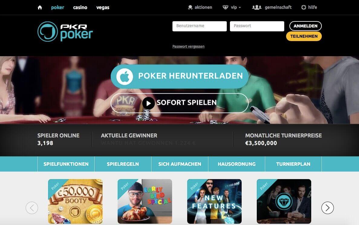 PKR Poker Bonus Code