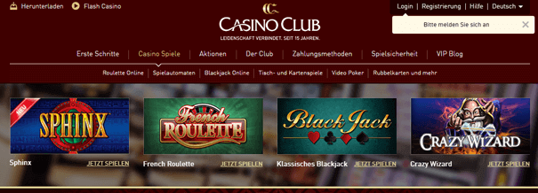 PayPal Casino Österreich Casino Club