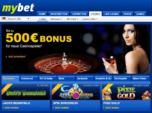 PayPal Casino Schweiz mybet