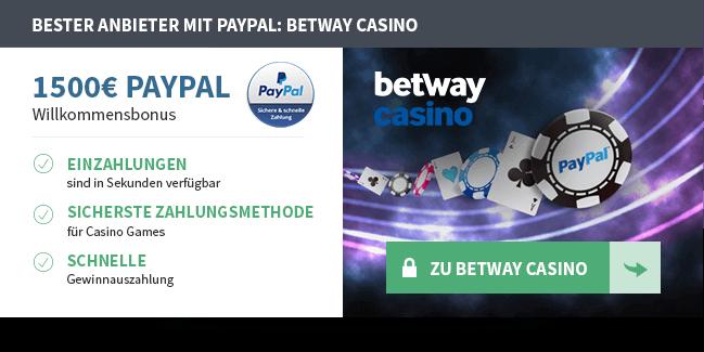 Paypal-Casino-Empfehlung