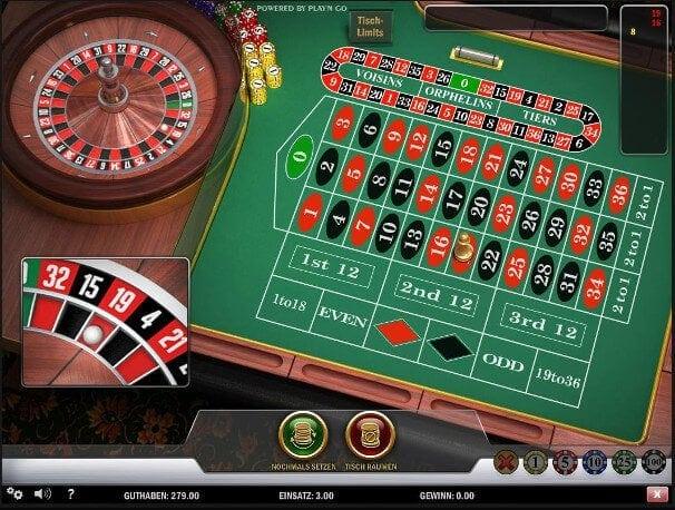 Permanenzen Roulette Download