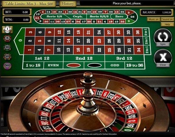 Zoom-Roulette kann auch Bonusgewinne bringen