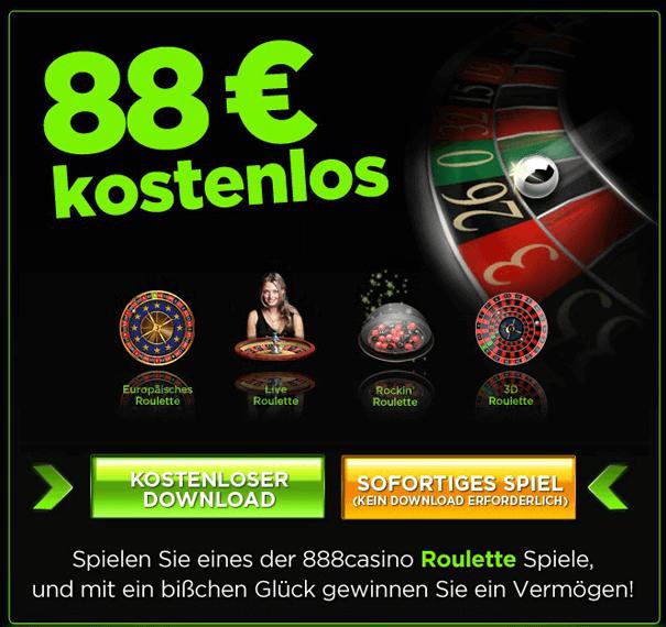 Roulette PayPal Casino 888
