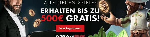 Roy Richie Casino Bonus