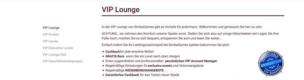 VIP Bonus für Bestandskunden