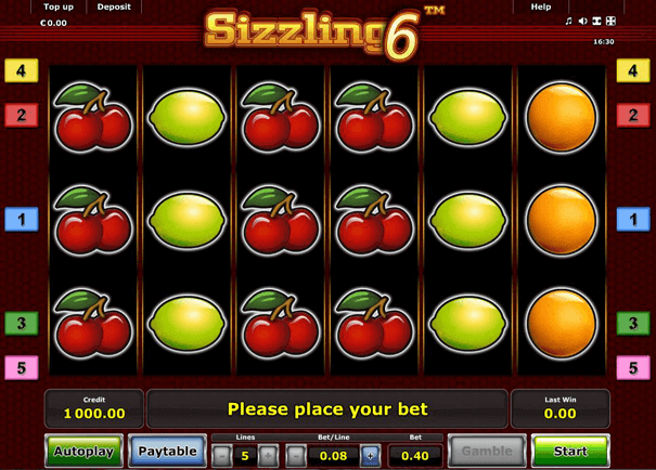 Sizzling Hot Casino mit PayPal: Lucky Seven