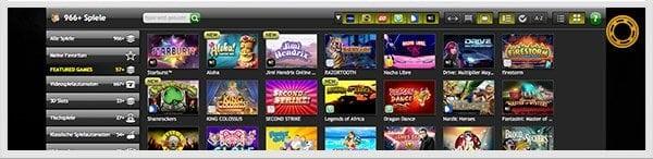 CasinoLuck Spiele-Angebot