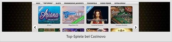Spieleangebot_Casinovo