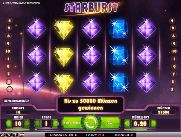 Starburst Casino mit PayPal: Lucky Seven