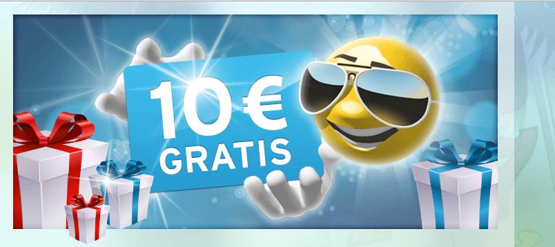 10 Euro Gratisguthaben bei Sunnyplayer
