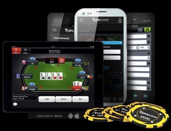 Titan Poker online spielen App