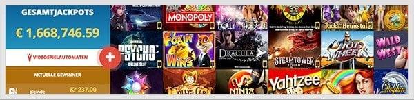 Vegas Winner Erfahrungen: Gutes Spieleangebot
