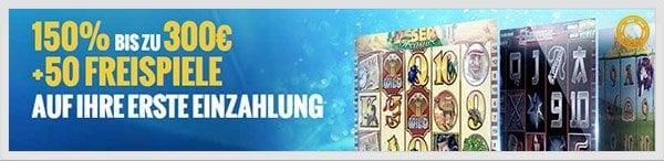 William Hill Casino Club Bonus: Bis zu 300 Euro + 50 Freispiele