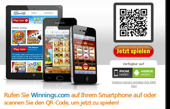 winnings rubbellose auch mobil spielen