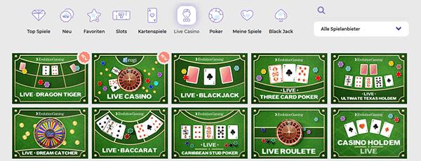 Alf Casino Live Casino