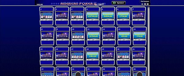 American Poker 2 Legend
